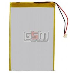 Аккумулятор для китайского планшета, универсальный (130*90*4,0 мм), (Li-ion 3.7V 4000mAh)