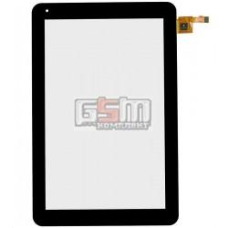 Тачскрин для планшета Prestigio MultiPad 4 Quantum 10.1 (PMP5101C), черный, #RS10F207