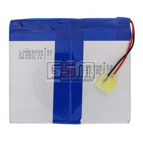 Аккумулятор для китайского планшета, универсальный (91*105*6,0 мм), (Li-ion 7.4V 3000mAh)
