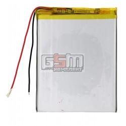 Аккумулятор для китайского планшета, универсальный (100*76*5,0 мм), (Li-ion 3.7V 3200mAh)