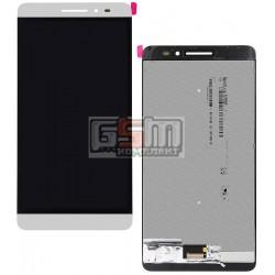 Дисплей для планшета Lenovo Phab Plus PB1-770M LTE, белый, с сенсорным экраном (дисплейный модуль)
