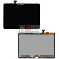 Дисплей для планшетов Samsung P600 Galaxy Note 10.1, P601 Galaxy Note 10.1, P605, черный, с сенсорным экраном (дисплейный модуль