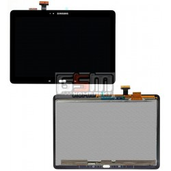 Дисплей для планшету Samsung P600 Galaxy Note 10.1, P601 Galaxy Note 10.1, P605, чорний, з сенсорним екраном (дисплейний модуль)
