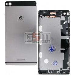 Задняя панель корпуса для Huawei P8 (GRA L09), черная