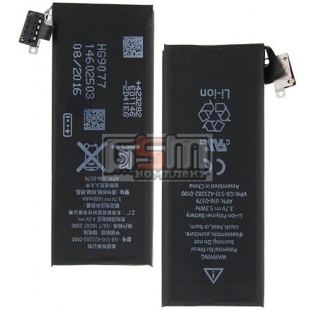 Аккумулятор для Apple iPhone 4S, (Li-ion 3.7V 1430мАч), #616-0579