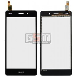 Тачскрин для Huawei P8 Lite (ALE L21), черный