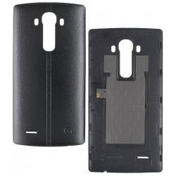 Задняя крышка батареи для LG G4 F500, G4 H810, G4 H811, G4 H815, G4 H818N, G4 H818P, G4 LS991, G4 VS986, черная, leather black