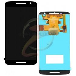 Дисплей для Motorola XT1562 Moto X Play, XT1563 Moto X Play, черный, с сенсорным экраном (дисплейный модуль)