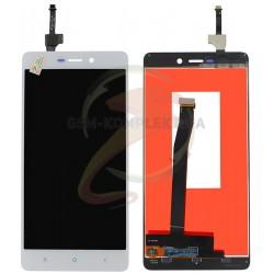Дисплей для Xiaomi Redmi 3, белый, original (PRC), с сенсорным экраном (дисплейный модуль)
