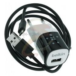 Зарядное устройство Belkin Mixit, 1A usb + micro usb кабель