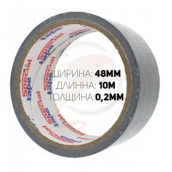Армированный скотч, ширина 48мм, длина 10метров, толщина 0,2мм