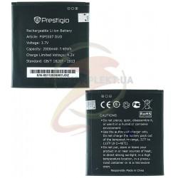 Аккумулятор для Prestigio MultiPhone 5507 Duo, оригинал, (Li-ion 3.7V 2000mAh)