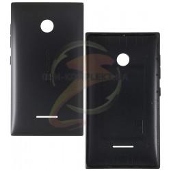 Задняя панель корпуса для Microsoft (Nokia) 435 Lumia, черная