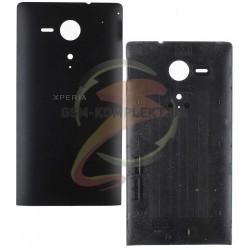 Задняя панель корпуса для Sony C5302 M35h Xperia SP, C5303 M35i Xperia SP, черная