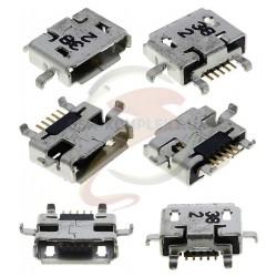 Коннектор зарядки, 5 pin, тип 12, micro-USB тип-B