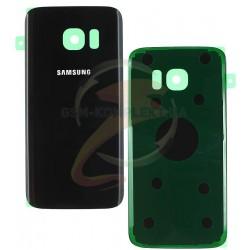 Задняя панель корпуса для Samsung G930F Galaxy S7, черная