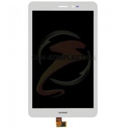 Дисплей для планшетов Huawei MediaPad T1 8.0 (S8-701u), MediaPad T1 8.0 LTE T1-821L, белый, с сенсорным экраном (дисплейный моду