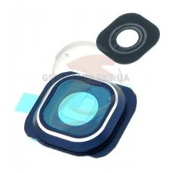 Стекло камеры для Samsung G920F Galaxy S6, синее