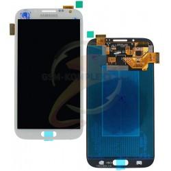 Дисплей для Samsung I317, N7100 Note 2, N7105 Note 2, T889, белый, с сенсорным экраном (дисплейный модуль)