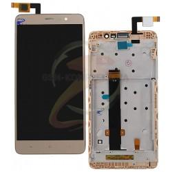 Дисплей для Xiaomi Redmi Note 3, золотистый, original (PRC), с сенсорным экраном (дисплейный модуль), с передней панелью