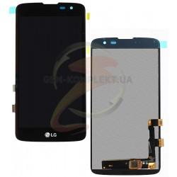 Дисплей для LG K7 X210, K7 X210DS, черный, с сенсорным экраном (дисплейный модуль)