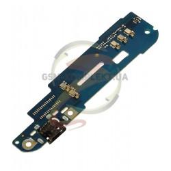 Шлейф для HTC Desire 610, коннектора зарядки, микрофона, (плата зарядки)
