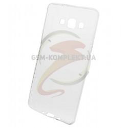 Силиконовый чехол для Samsung A700F Galaxy A7, A700H Galaxy A7, бесцветный, прозрачный