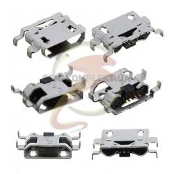 Коннектор зарядки, 5 pin, тип 13, micro-USB тип-B