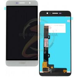 Дисплей для Huawei Enjoy 5, Y6 Pro, белый, с сенсорным экраном (дисплейный модуль)