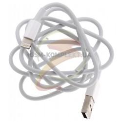 USB дата кабель Lightning для Apple iPhone 5/iPad 4/Mini, 2A