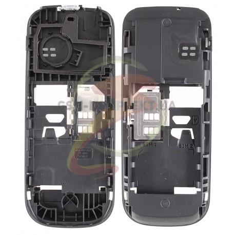 Средняя часть корпуса для Nokia 101, черный, пустая