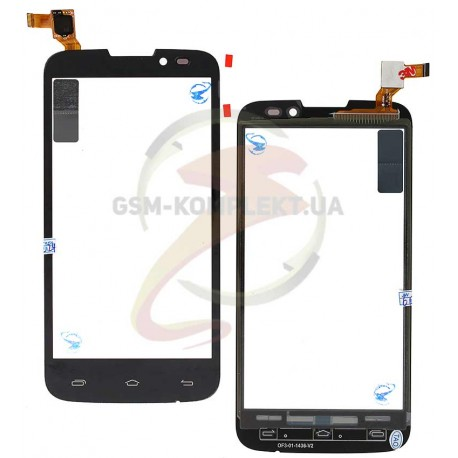 Тачскрин для Prestigio MultiPhone 5503 Duo, MultiPhone 5517 Duo, черный, #MCF-050-1436-V1.0