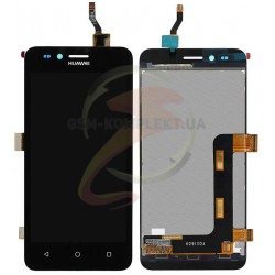 Дисплей для Huawei Y3 II, черный, с сенсорным экраном (дисплейный модуль)