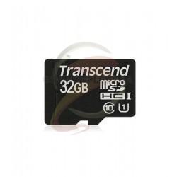 Карта памяти 32 Gb microSD Transcend UHS-I (Premium 400X) (без адаптера) TS32GUSDCU1