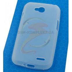 Силиконовый чехол для LG D410 Optimus L90 Dual SIM, прозрачный