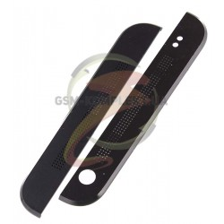 Верхняя + нижняя панель корпуса для HTC One M7 801e, черная