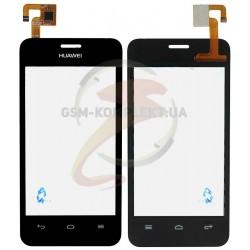 Тачскрин для Huawei Ascend Y320-U30 Dual Sim, черный, тип 1, #LCFT040807 Rev A0