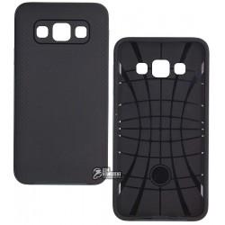 Чехол Ipaky для Samsung Galaxy A3, силиконовый, пластиковая рамка, черный