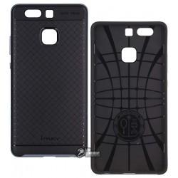 Чехол Ipaky для Huawei P9, силиконовый, пластиковая рамка, черный