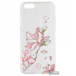 Чехол Hoco силиконовый, Super star series inner diamond flower Bauhinia для iPhone 6/6S