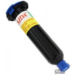 Клей AIDA TP-2500F, 30 гр ультрафиолетовый, для склеивания диплейного модуля