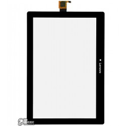 Тачскрин для планшета Lenovo Tab 2 X30F A10-30, черный