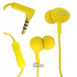 Наушники Remax RM-515 желтый