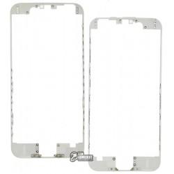 Рамка крепления дисплея для Apple iPhone 6, белая