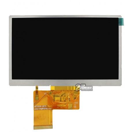 Дисплей для автонавигаторов Navi N50i BT; GPS 5,0, 5.0, 40 pin, (480*272), #AT050TN33 v.1/KD50G10-40NC-A1/KD50G10-40NC-A3/320005