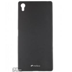 Чехол Melkco PolyJacket TPU для Sony Xperia Z5 черный мат