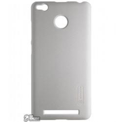 Панель чехол Nillkin Frosted для Xiaomi Redmi 3 Pro, белая