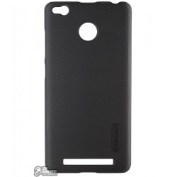 Панель чехол Nillkin для Xiaomi Redmi 3 PRO, матовая, черная