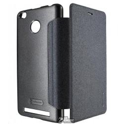 Чехол Nillkin Sparkle кожзам для Xiaomi Redmi 3 Pro, черный