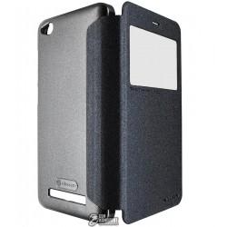 Чехол Nillkin Sparkle кожзам для Xiaomi Redmi 4A, черный
